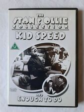 THE STAN & OLLIE COLLECTION - Kid Speed & Enough to Do (DVD 2003) Laurel & Hardy