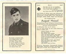 orig. STERBEBILD - DEATH CARD - TK TIGER PANZER *TIGERPANZER* - Ostfront 1943