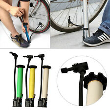 Mini Portable Cycling Road Bike MTB Motorcycles Air Tyre Pump Inflator Valve PO