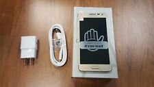 New Samsung Galaxy Alpha SM-G850A - 32GB - Gold AT&T GSM Unlocked. LCD SHADOW