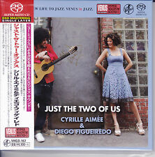 """Cyrille Aimee Diego Figueiredo Just The Two Of Us"" Japan Venus Records SACD New"