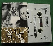 Simple Minds Once Upon A Time inc Sanctify Yourself + Cassette Tape - TESTED