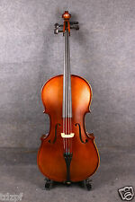 Yinfente 1/2 cello Hand made selected Maple spruce Cello Bag Bow Ebony Fitting