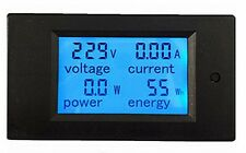 PZEM-021 20A AC Digital LED Power Panel Meter Monitor Power Voltmeter Ammeter
