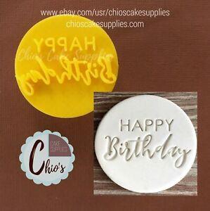 """Happy Birthday"" Embosser Stamp"