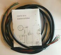 IMPIANTO ELETTRICO ELECTRICAL WIRING FANTIC MOTO 50 cc. BOBINA ESTERNA