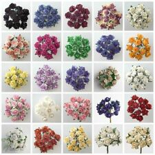 Bunches Roses Paper Flowers/ Petal Craft Floral Supplies