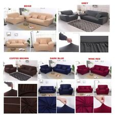 Elastic Sofa Cover Seater Stretchable Protector Couch Slip Cushion Single Double