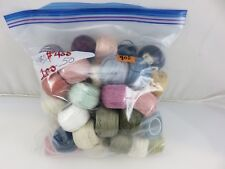 DMC Skein Balls Floss Thread Embroidery Yarn 50pc Lot #900 Assorted Colors