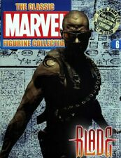 Classic Marvel Figurine Collection # 6 Blade + Magazine