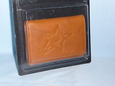DALLAS STARS   Leather TriFold Wallet    NIP   by Rico     brown 2