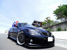 FOR 2008-2014 LEXUS IS-F ISF SEDAN ONLY CARBON FRONT SPOILER LIP SPOILER L STYLE