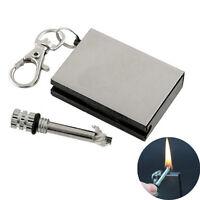 Emergency Portable Kit Survival Fire Starter Hiking Flint Match Lighter Outdoor