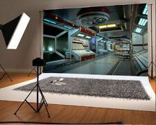 Space Station Backdrop Technology Props 7x5ft Studio Photo Background Vinyl