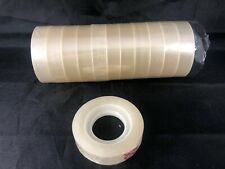 12 ROLLS Sellotape 12mm x 33 Metres Clear Cellotape Packing Tape Roll