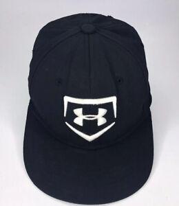 Youth Baseball Under Armour Hat Cap Youth Black Hat Cap Ball Cap c12