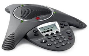 Polycom SoundStation IP 6000 IP6000 Konferenz-Telefon wie Neu