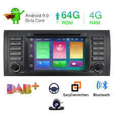 Android 9.0 8Core Car DVD Player GPS stereo radio for BMW X5 Series E38 E39 E53