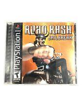 Road Rash: Jailbreak (Sony PlayStation 1, 2000) Complete with Manual CIB