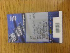 27/08/2014 Ticket: Birmingham City v Sunderland [Football League Cup] (Kop). Any