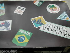 CAPITAL ADVENTURE GAME - GOOD ORDER - TRAVEL GAME - WEIGHS OVER 4 KILO!! - FUN..