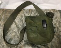 Genuine US Military Issue *** Canteen Cover 2qt. Olive Drab with Canteen Good