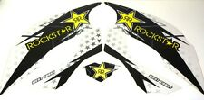 Yamaha Raptor 660 Quad ATV Graphic Decal Kit West Coast Rock* Star White