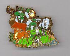 Disney Auctions Bambi Mom Great Prince Faline Thumper Flower Owl Jumbo Le100 Pin