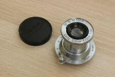 Leitz Elmar 50mm f3.5 Collapsible Standard Lens - Leica Screw Mount - Chrome