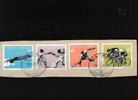 Liechtenstein 365-368 (kompl.Ausg.) gestempelt Briefstück