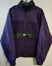 Vintage ADIDAS Zip Fleece Sweatshirt Mens S Jumper Pullover Retro 90s Purple