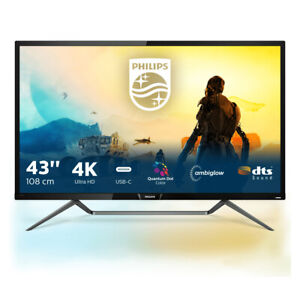 Philips M Line 4K HDR display with Ambiglow 436M6VBPAB/00 - 436M6VBPAB/00 - Mome