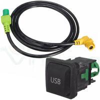 Cavo adattatore presa USB auto radio RCD300+ RCD510 RNS315 stereo Volkswagen VW