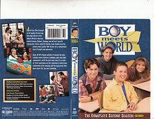 Boy Meets World-1993/2000-TV Series USA-The Complete Second Season-3 Disc-DVD