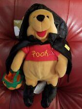 """a Disney Witch Winnie the Pooh Bean Bag Beanie tags Halloween Pumpkin 8"""""""