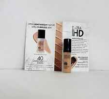 Lot of 2 MAKE UP FOR EVER ULTRA HD FOUNDATION 115/R230 Ivory .16 oz. NEW