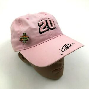 Nascar Tony Stewart Pink Hat Cap Womens Strapback Winners Circle Ladies Day Pin