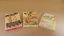 3 the Balm Palettes~3 Different Shades~ MaryLou Manizer~Bahama Mama~Balm Springs