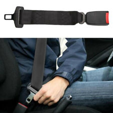 "2x 14"" Universal Car Safety Seat Belt Extender Extension 7/8"" Buckle Lock Clip"