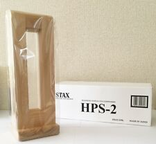 NEW STAX Official Product HPS-2 Natural Wood Earspeaker Headphone Stand JAPAN