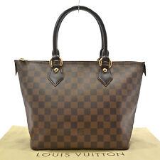 Authentic LOUIS VUITTON Saleya PM Tote Bag Damier Ebene Canvas N51183 #K161304
