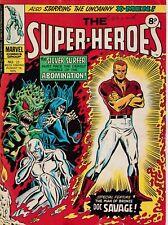 THE SUPER-HEROES #25 Marvel Comics International 1975 - Back Issue