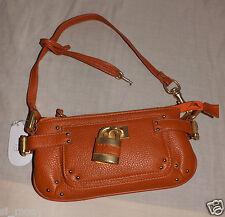 Le donne CARAMELLO spalla bag-purse con Locker spalline remov TAGLIA SMALL