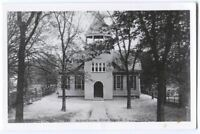 RPPC Postcard Reproduction of Schoolhouse River Edge NJ