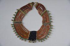 Extremely Rare Authentic 19th century Naga Necklace Konyak Tribe Beads