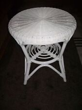 Rattan Table NEW Color White