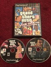 Grand Theft Auto: Vice City & Liberty City Stories - 2 Game Lot DISC ONLY GTA