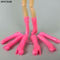 """10 Pair Lot Doll Shoes Fairy Tail Chrystal High Heels For 11.5/"""" Dolls 1:6 BJD"""