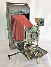 Autographic Kodak No. 3A Folding Camera with Red Bellows