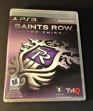 Saints Row The Third [ First Print W/ Black Label ] (PS3) USED